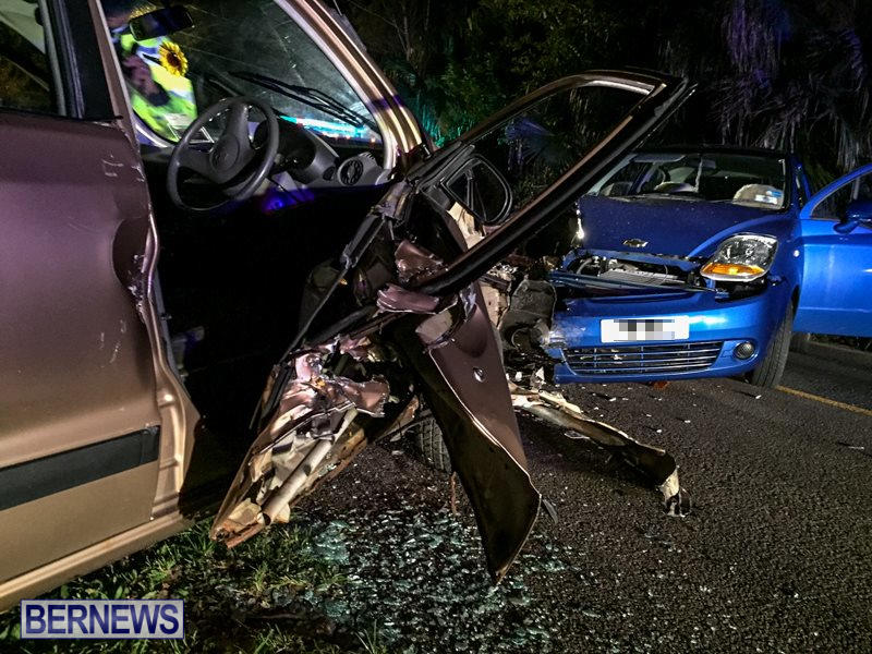 Two Car Accident Bermuda, March 19 2016-7