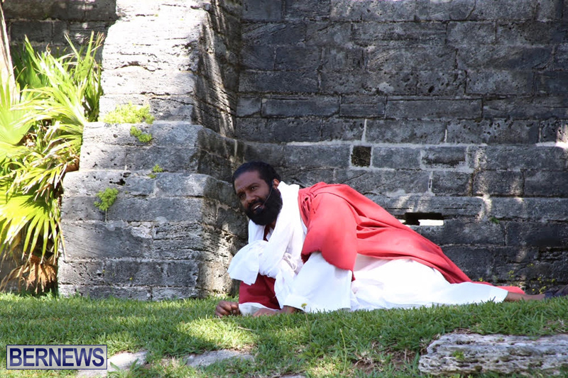 Walk-To-Calvary-Reenactment-Bermuda-March-25-2016-14