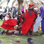 Walk To Calvary Reenactment Bermuda March 25 2016 (27)