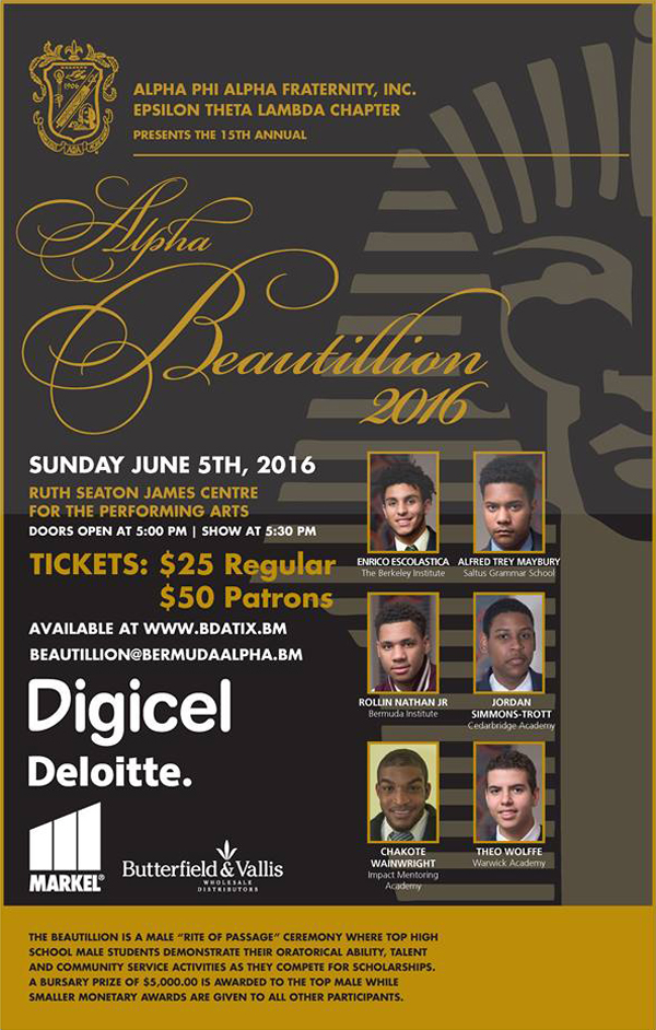 2016 Bermuda Alpha beautillion poster (1)