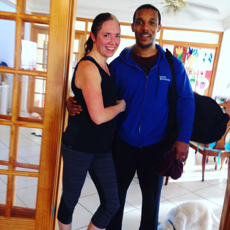 Ang and Deondre Bermuda April 6 2016