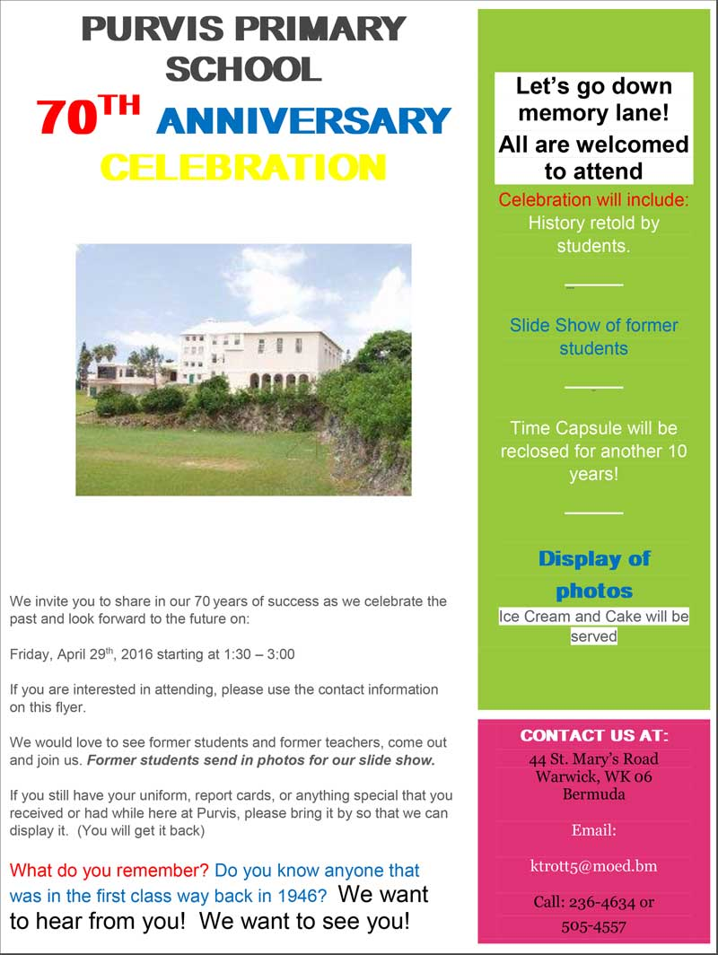 Anniversary Flyer 2016