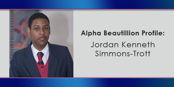 Beautillion Jordan Kenneth Simmons-Trott