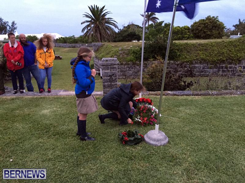 Bermuda AUS NZ Anzac Day service april 2016 (3)
