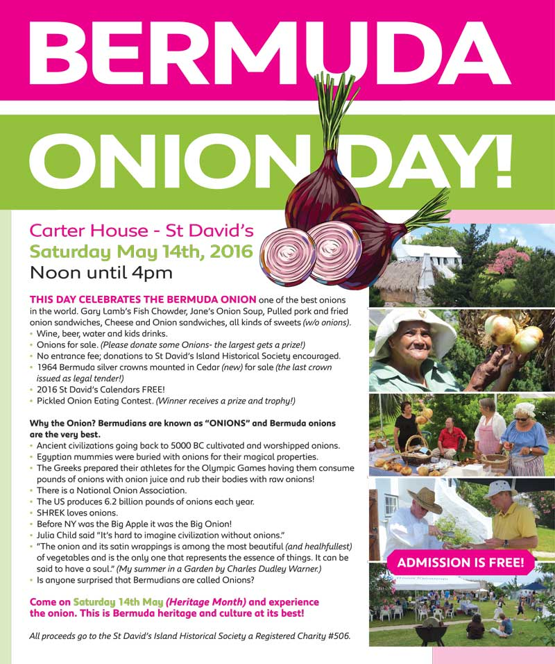 Bermuda Onion Day Event Banner