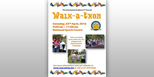 onionpatch walkathon to be held on april 23