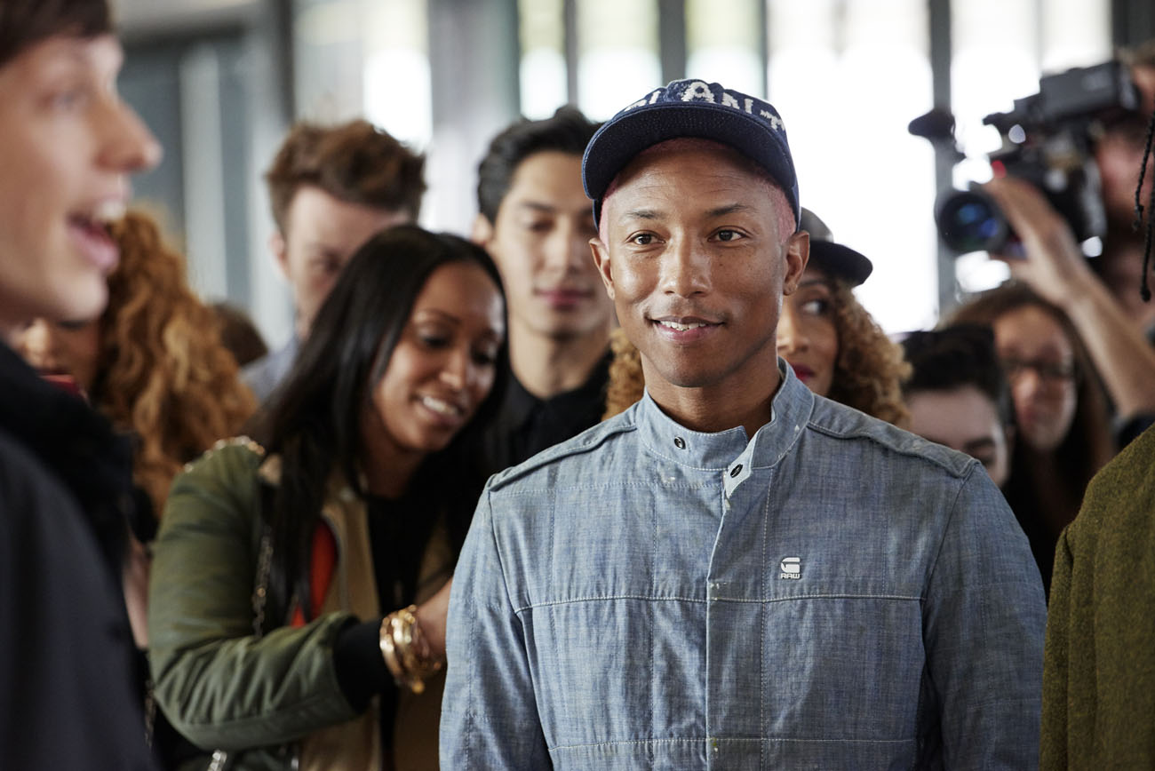 RAW Factory Tour, Pharrell Williams