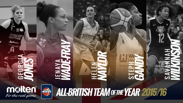 Wade-Fray Named to WBBL Team of the Year