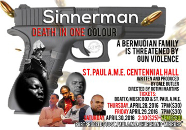 sinnerman poster