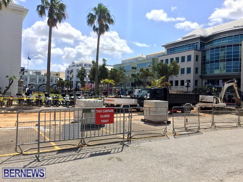 work at city hall car park april 21 2016 bermuda (3)