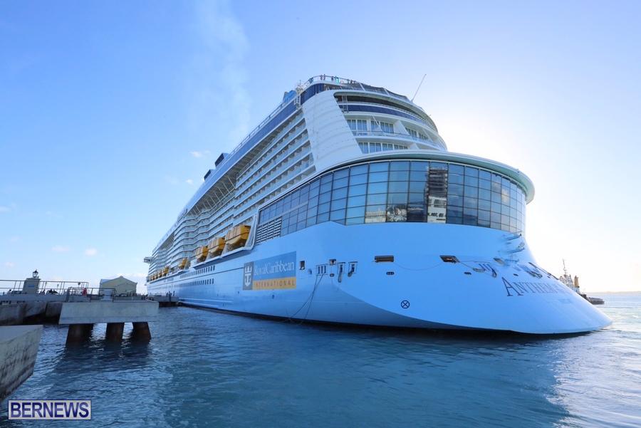 Photos Anthem Of The Seas In Dockyard Bernews Bernews - Anthem of the seas cruises