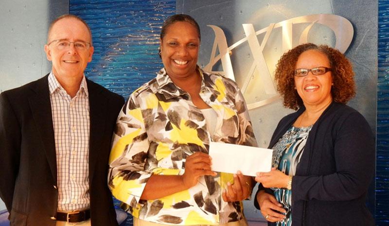 Axis Donates To Windreach