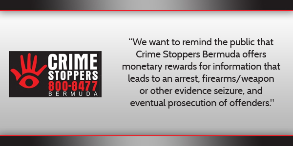 Crime Stoppers Bermuda May 11 2016