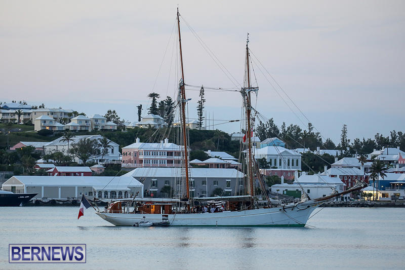 French Tall Ship FS Etoile Bermuda, May 10 2016-1