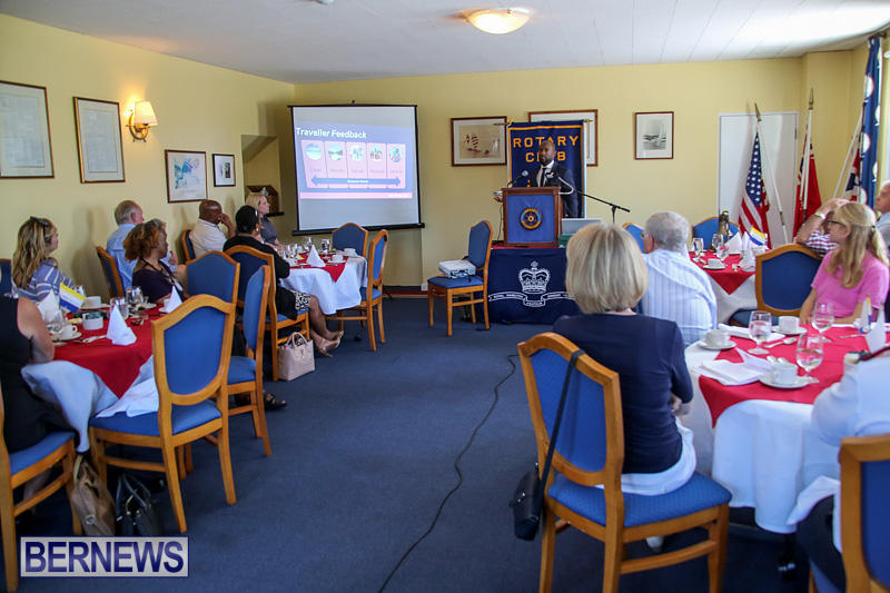 Glenn Jones BTA Rotary Lunch Bermuda, May 10 2016-1