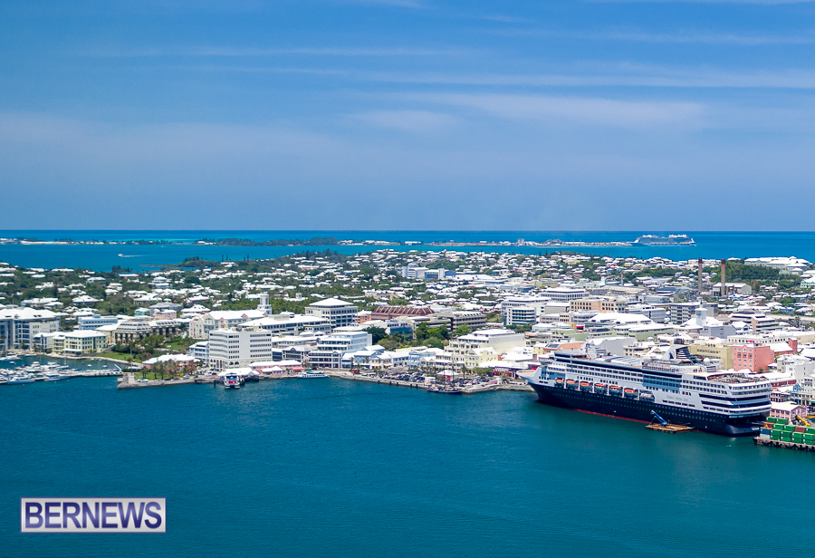 Hamilton Bermuda cruise ship generic 431254315
