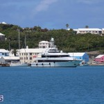 Kisses super yacht At Ordnance Island Bermuda May 2 2016 2