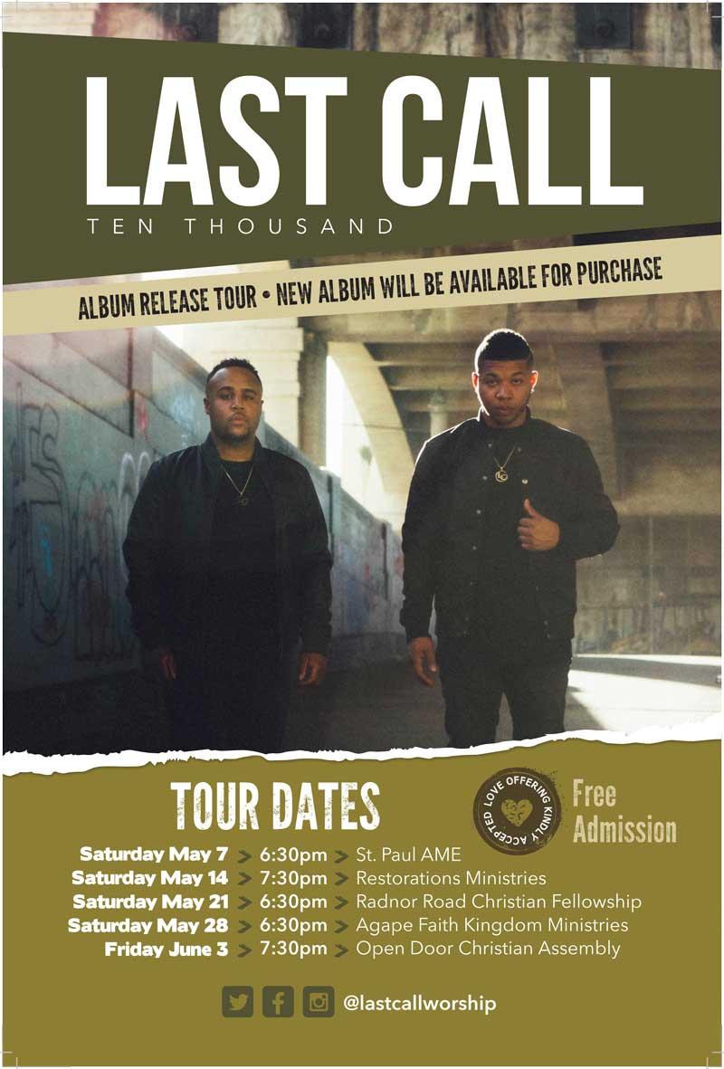 Last Call Debut Album Poster_FINAL