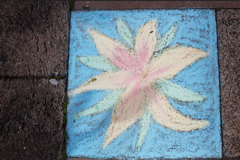 Nicky gurret chalk Artist Bermuda May 30 2016 (2)