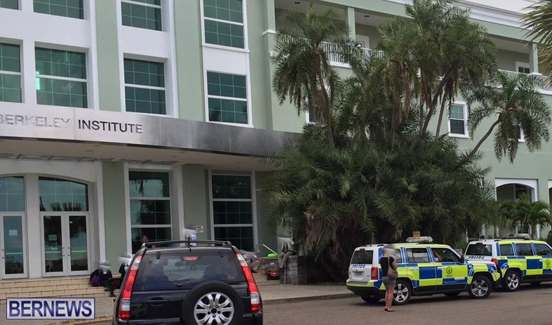 Police Berkeley Institute Bermuda May 12 2016