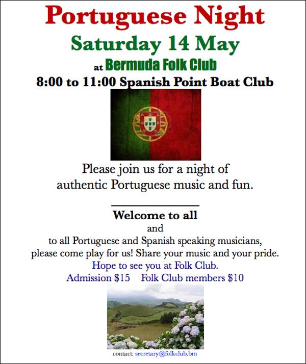 Portuguese Night Bermuda May 13 2016