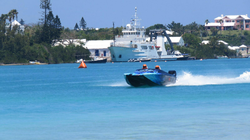 Powerboats Bermuda May 29 2016 A