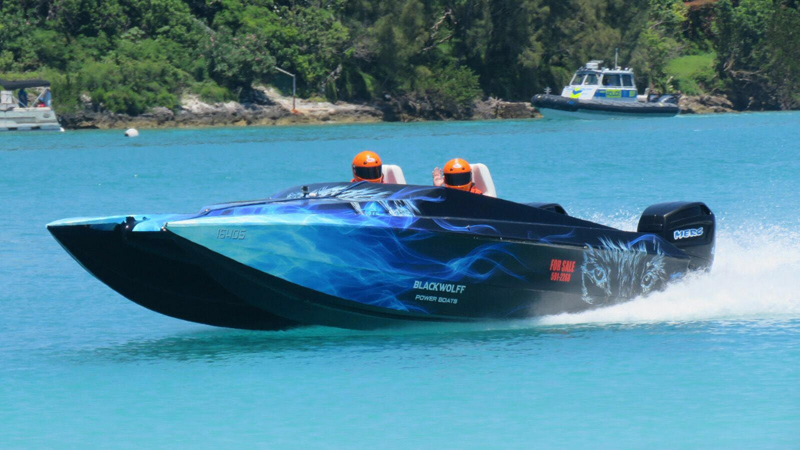 Powerboats Bermuda May 29 2016 S