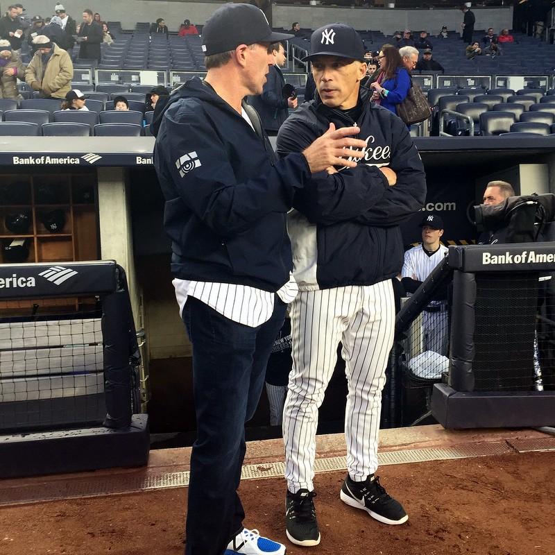 Premier Michael Dunkley NY Yankees Manager Joe Girardi