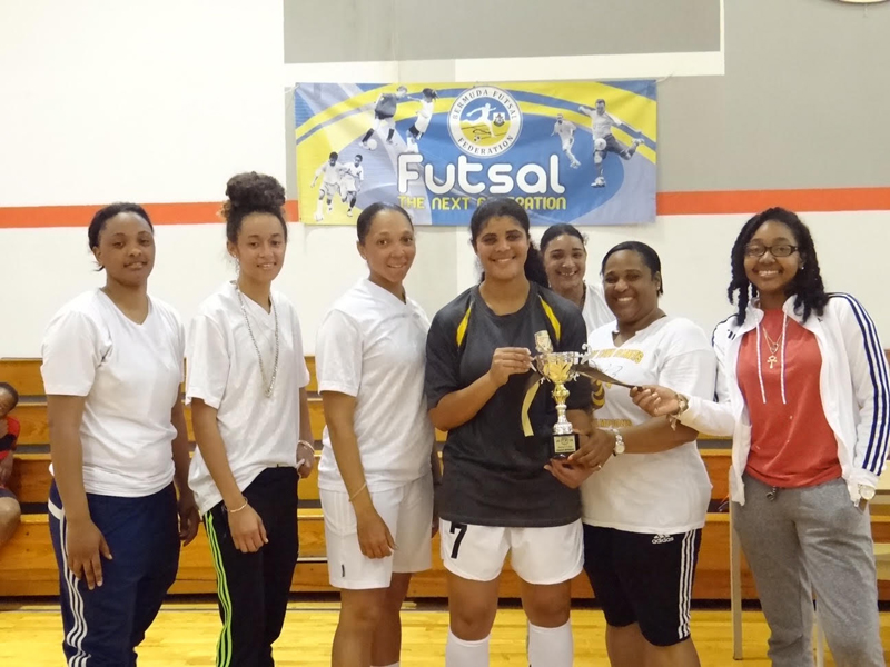 Women's Futsal Results Bermuda May 2 2016