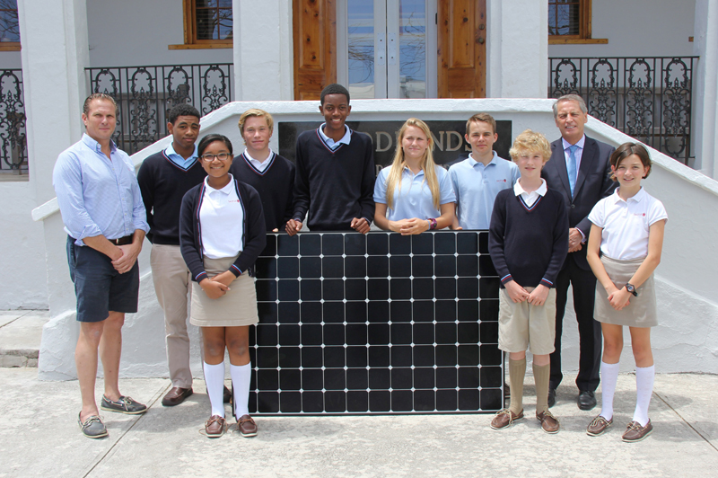 saltus solar panel Bermuda May 26 2016