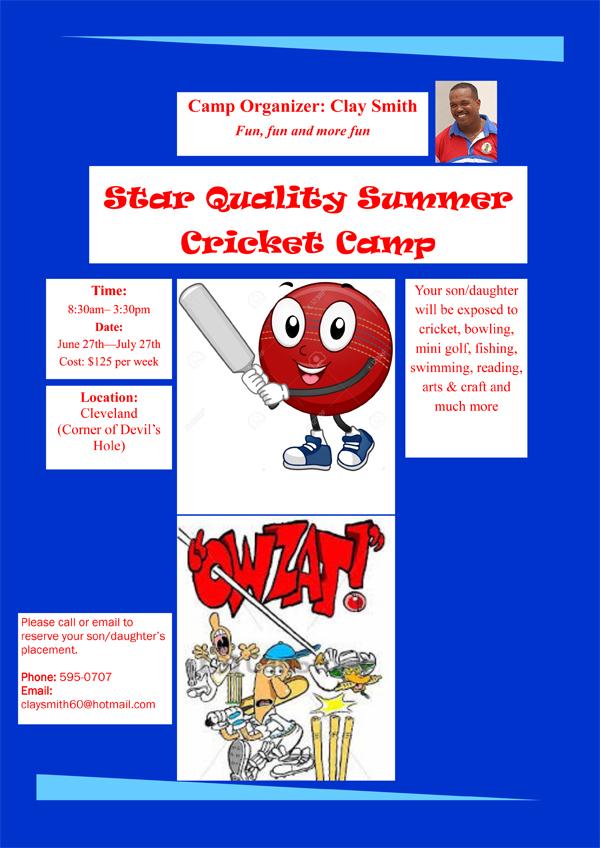 summer camp Bermuda May 31 2016
