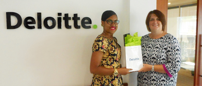 2016 Deloitte Scholarship recipient Sinae Smith Bermuda June 24 2016