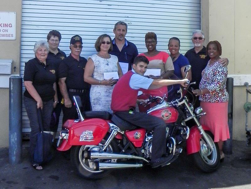 Bermuda Long Riders Motor Cycle Club and Association Donation, June 1 2016 (1)