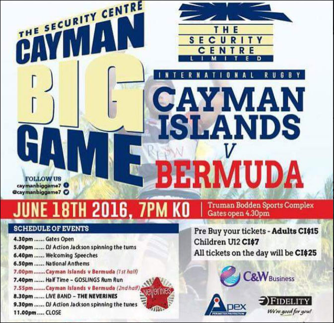 Cayman Big Game Rugby