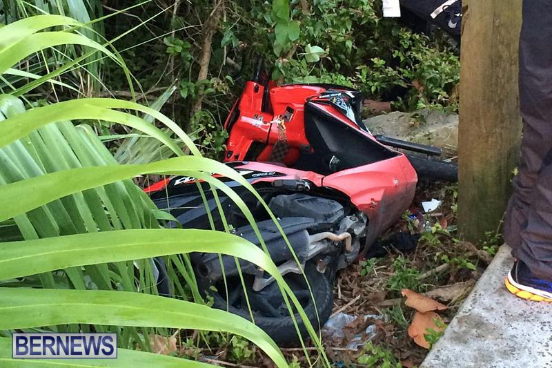 Collision Paget Bermuda, June 11 2016-2