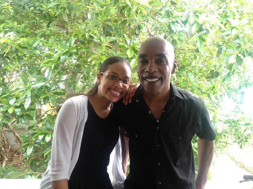 Gaynete Edwards and dad Bermuda (1)
