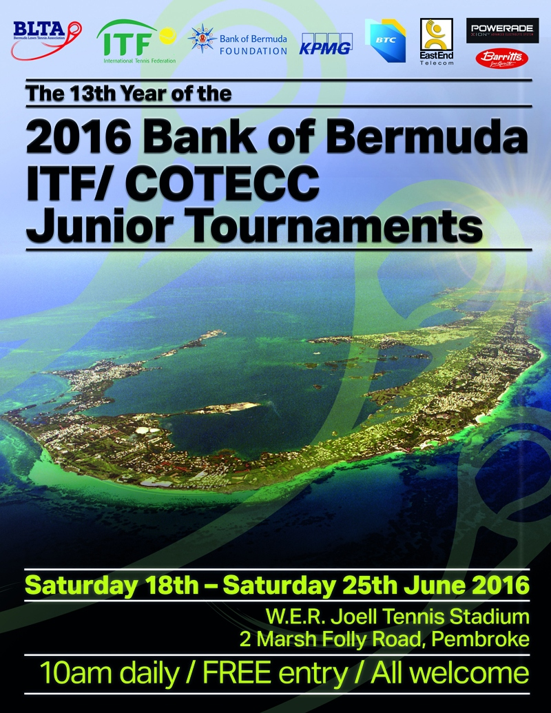 Junior ITF Bermuda June 17 2016