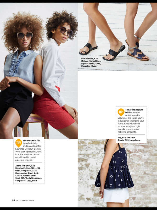 Lily lightbourn In Cosmo UK Bermuda June 8 2016 (3)