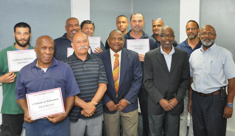 PTB Technician Certification Bermuda June 10 2016 (1)