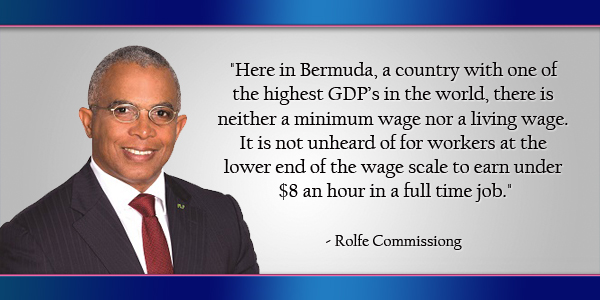 Rolfe Commissiong Bermuda June 26 2016