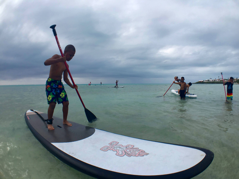 SUP'r kids Bermuda Free Paddling Program June 11 2016 (2)