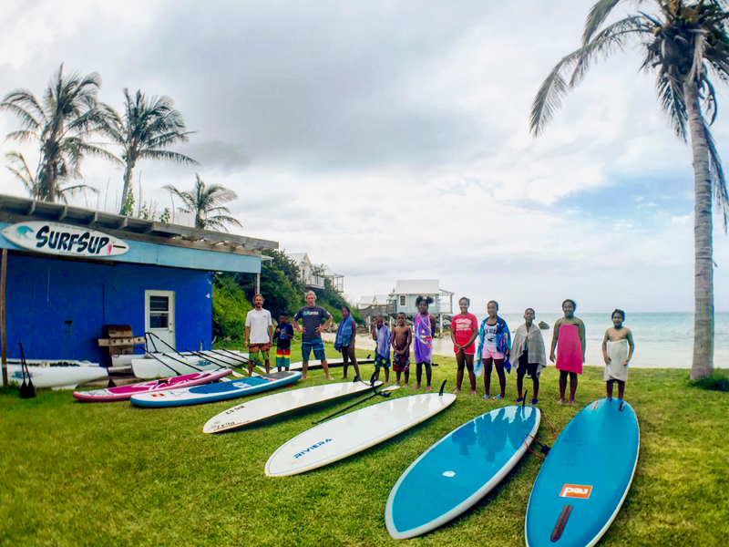 SUP'r kids Bermuda Free Paddling Program June 11 2016 (3)