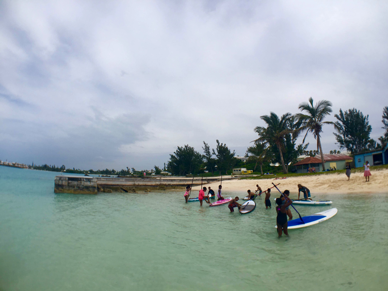 SUP'r kids Bermuda Free Paddling Program June 11 2016 (5)