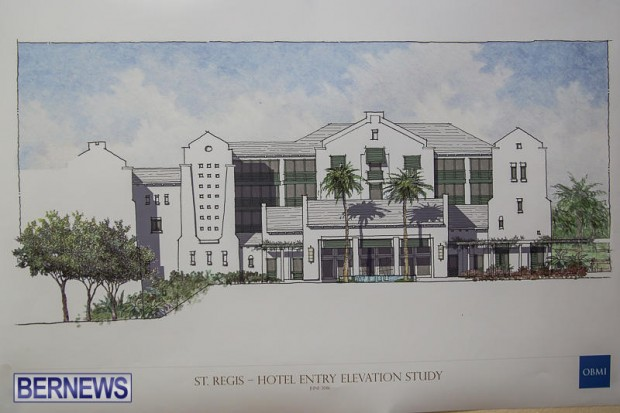 St Regis St George's Hotel Development Town Hall Bermuda, June 9 2016-12