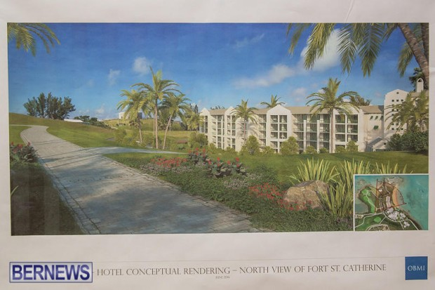 St Regis St George's Hotel Development Town Hall Bermuda, June 9 2016-15