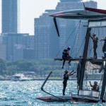 Setup Day 0 of Louis Vuitton America's Cup World Series Chicago