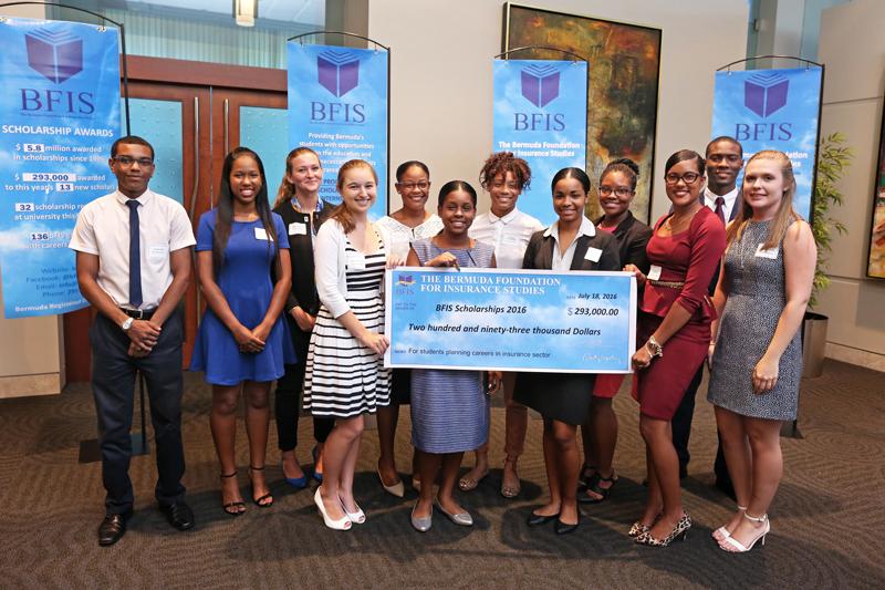 2016 BFIS Scholars