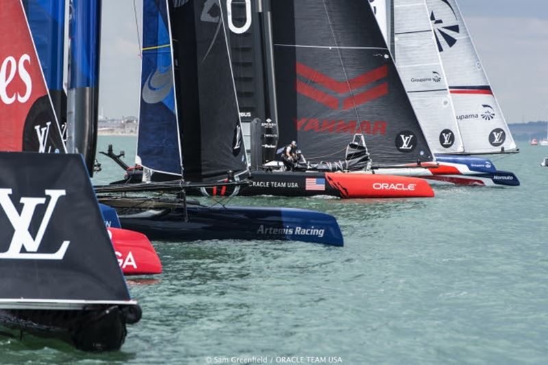 America's Cup World Series Portsmouth July 21 (2)
