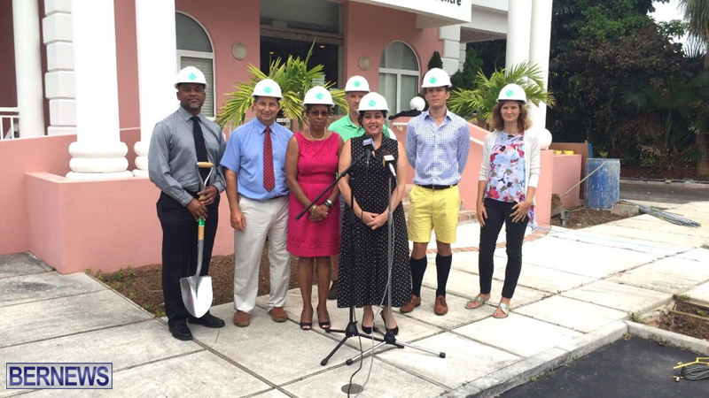 BCHC Radiation Therapy Treatment Facility ground breaking Bermuda July 14 2016 (1)