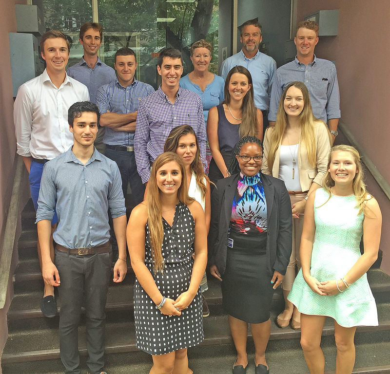 BFIS overseas interns Bermuda July 4 2016